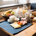 Een ontbijttafel